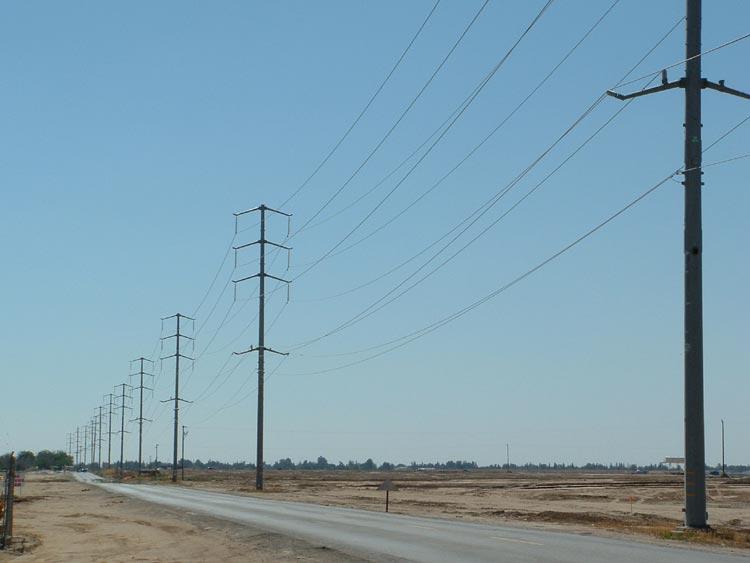 High Voltage Service Line