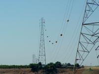 Intercity high voltage main transmission line